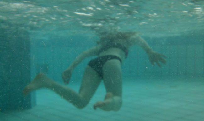 Chasse à l'oeuf subaquatique!